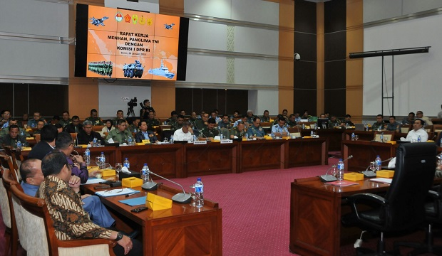 Rapat Kerja Komisi I DPR RI