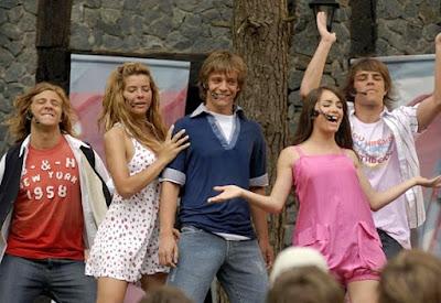 Foto de Teen Angels en el escenario