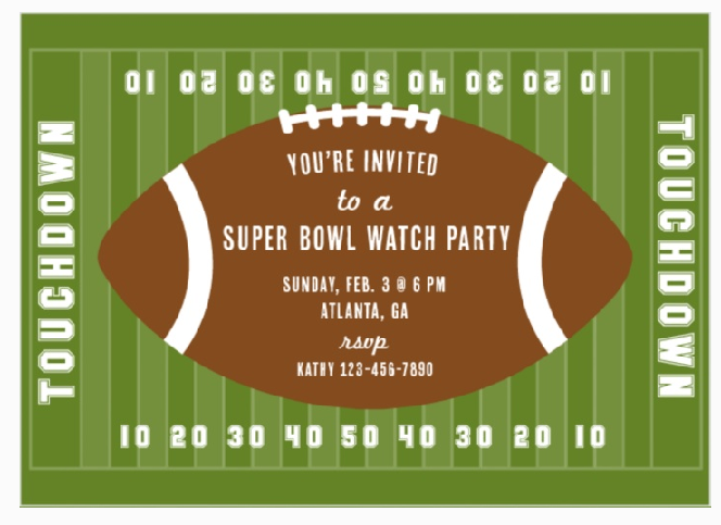 Watch Party Invitation