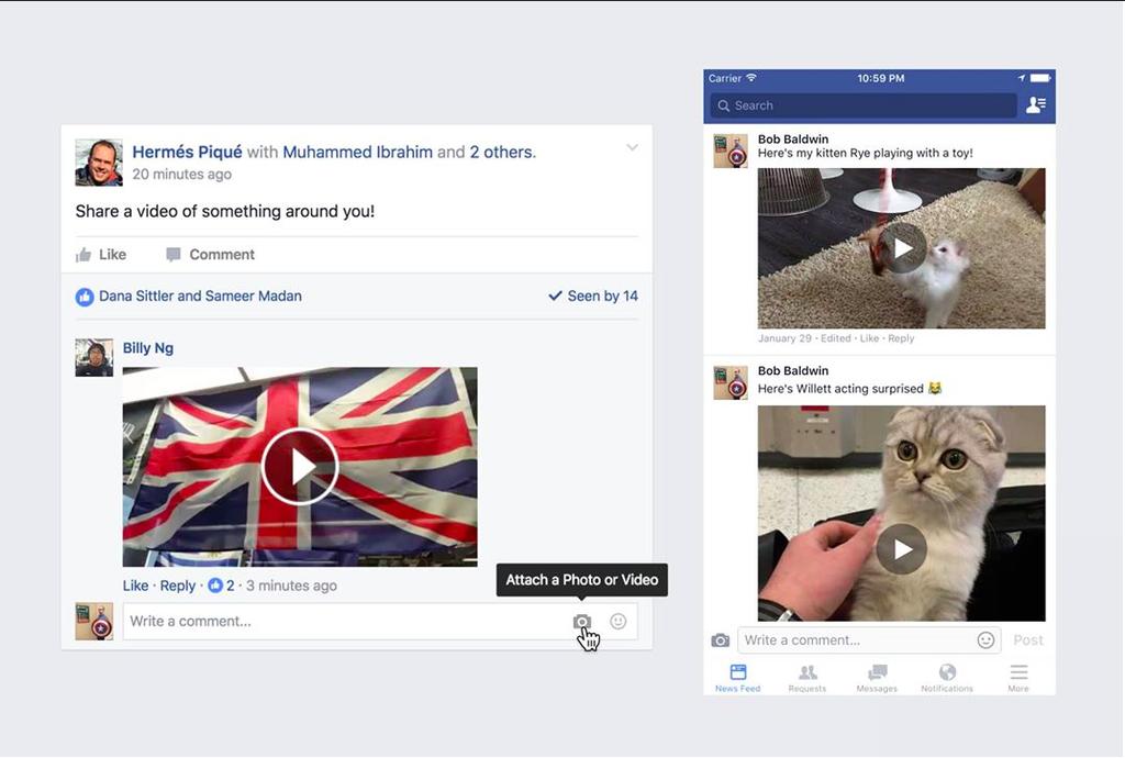facebook-vedio-comments