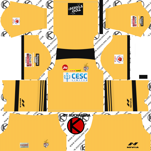 009095f7c ATK Kolkata 2018 Kit - Dream League Soccer Kits - Kuchalana