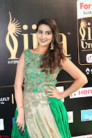 Manjusha in Beautiful Sleeveless Green Anarkali dress at IIFA Utsavam Awards 75.JPG