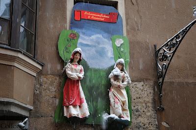 La Via delle Fiabe ad Innsbruck: quando i personaggi delle favole animano la città