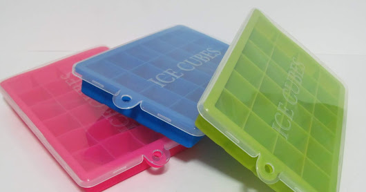 Compact, Easy To Use Ice Cube Trays From Seniore
