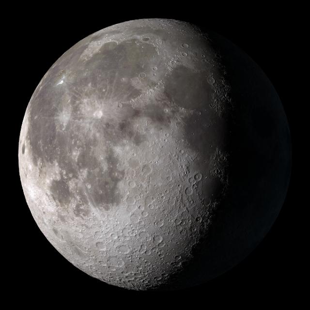 Bulan - contoh satelit alami di tata surya