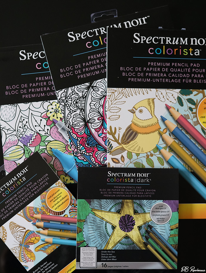 Spectrum Noir Colorista range of adult colouring products from Crafters Companion