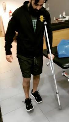 Samir_Sing_walking_after_ACL_torn
