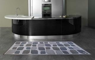 Tappeti arredo per la cucina moderni tappeti per la cucina - Tappeti bagno grandi ...