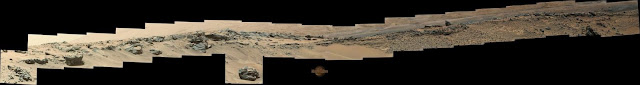 Sol 707 Curiosity Left Mastcam (M-34) Journey to Mount Sharp: Into the Valleys