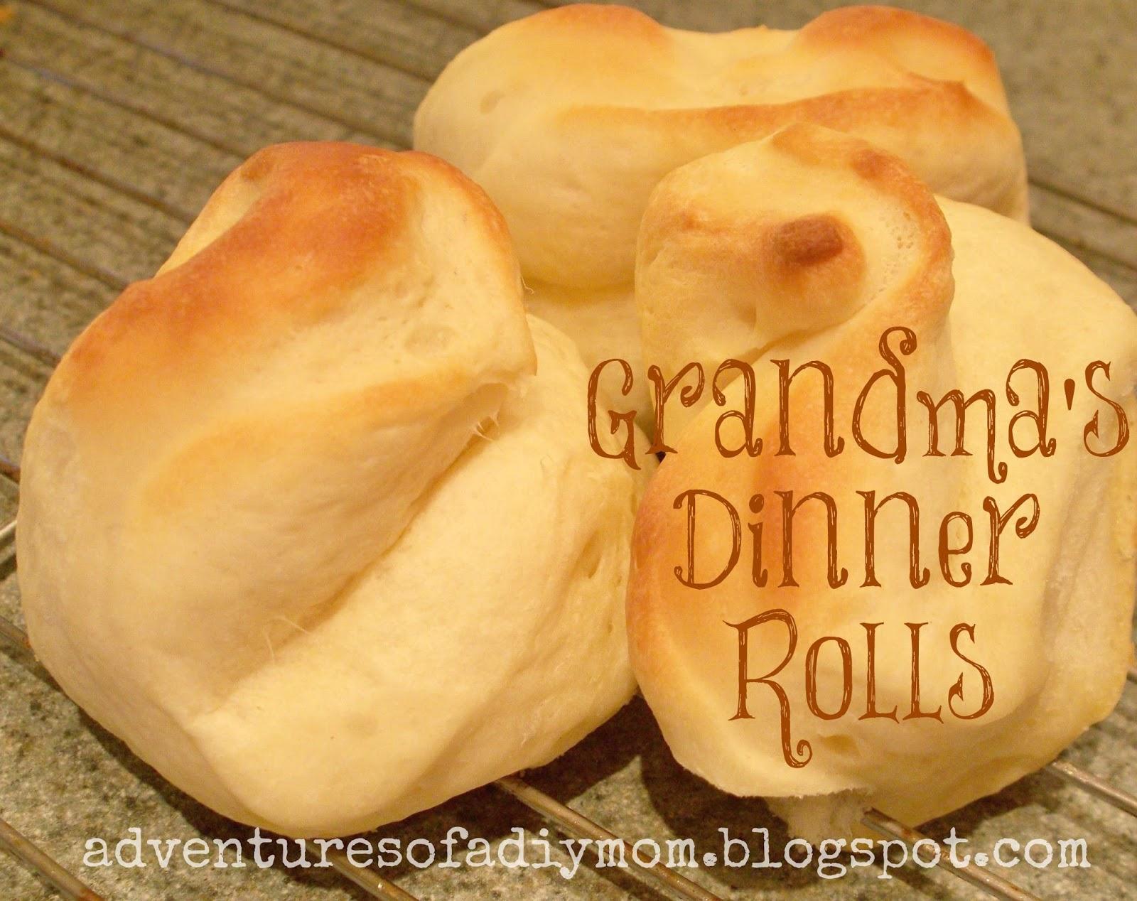 Grandma's Dinner Rolls