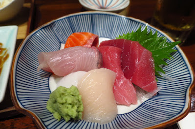 Japanese Restaurant Suju, sashimi