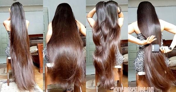 fórmula para crescimento do cabelo
