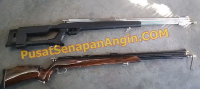Senapan gejluk Dual power PCP Shooter Air Rifle