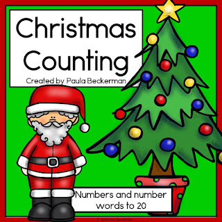 https://www.teacherspayteachers.com/Product/Christmas-Counting-Numerals-and-Number-Words-1-20-2889941