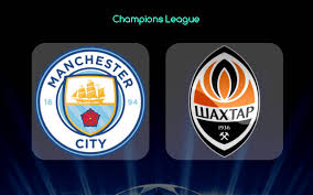 Manchester City vs Shakhtar: Champions League En Directo por TV / Detalles EN VIVO