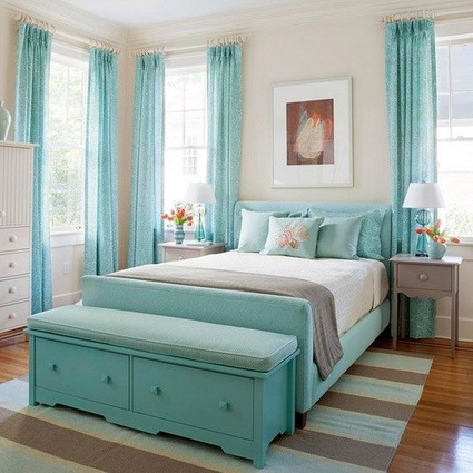 Turquoise Bedrooms 7
