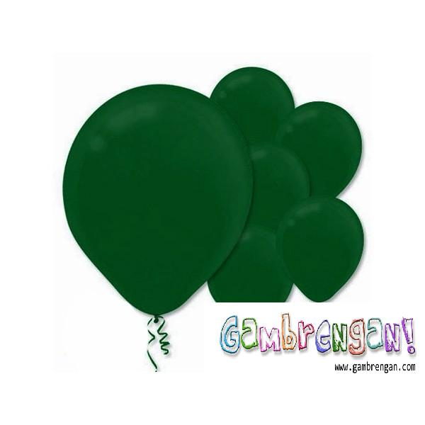 Balon dekorasi Moss Green