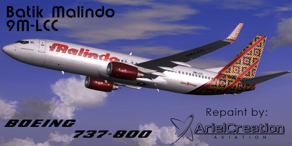 Pmdg 737 800ngx malindo batik air 9m lcc livery fsx ariel creation pmdg 737 800ngx malindo batik air 9m lcc livery fsx stopboris Choice Image