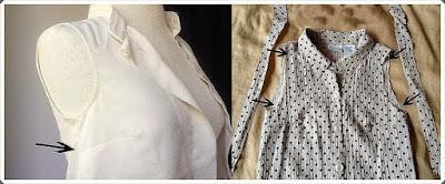 Eski Gömleği Değerlendirme- Bluz Yapımı, Resimli Açıklamalı 2