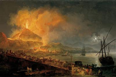 Resultado de imagen de volcán Vesubio 1787