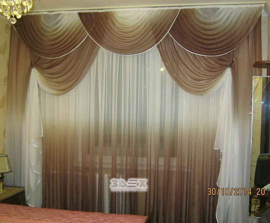 50 stylish modern living room curtains designs ideas colors - Living room window curtain styles ...
