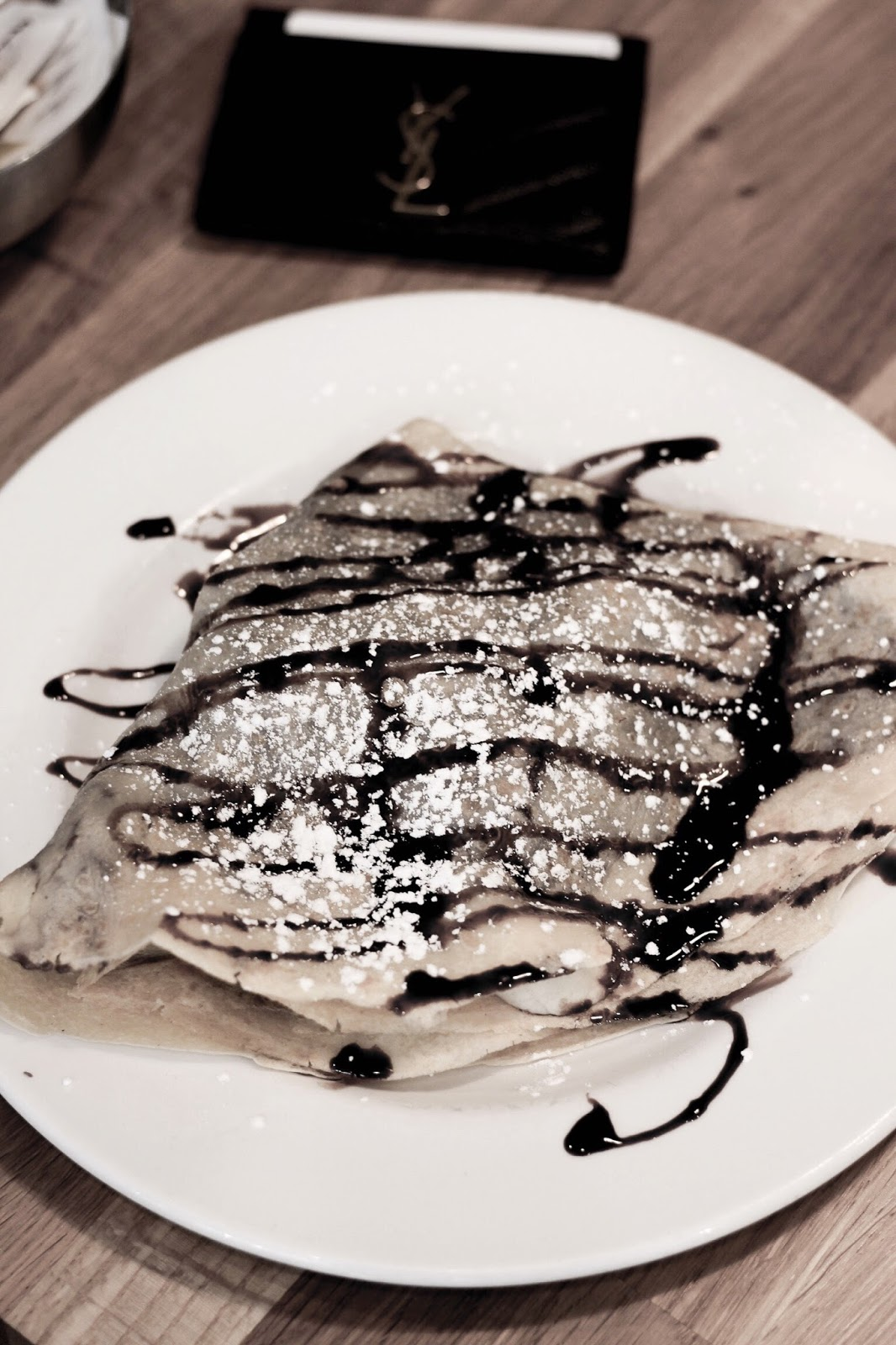 Nutella Crepe at Benets Cafe Cambridge