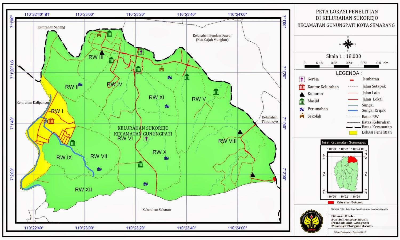 Map Semarang Ke Wonosobo