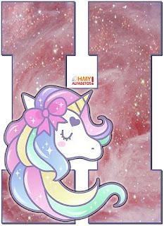 Abecedario Sueños de Unicornio. Unicorn Dreams Abc.