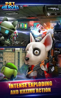 Action of Mayday Pet Heroes MOD APK