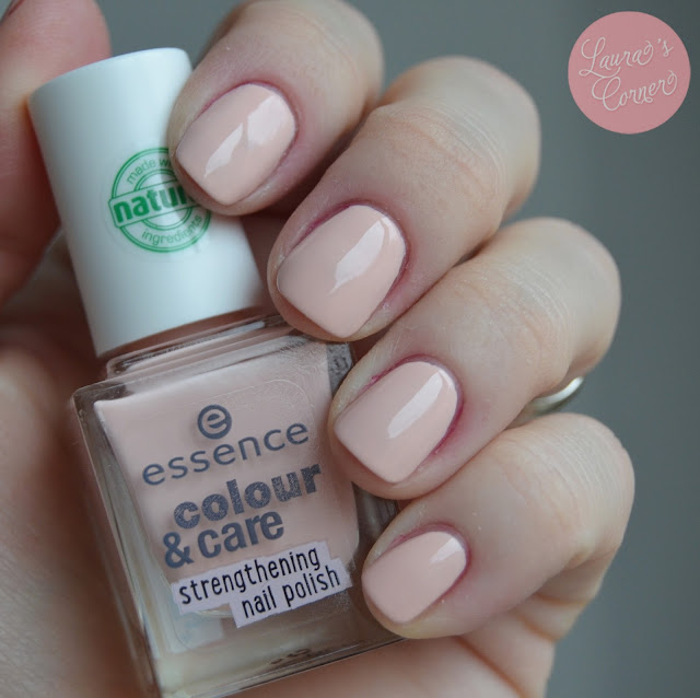 Essence Color&Care Strengthening Nail Polish Swatches