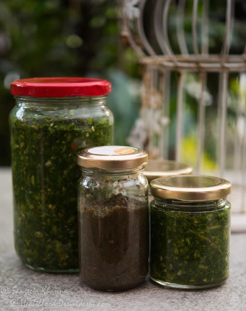 recipe of hare lehsun ka achar or lehsunsagga