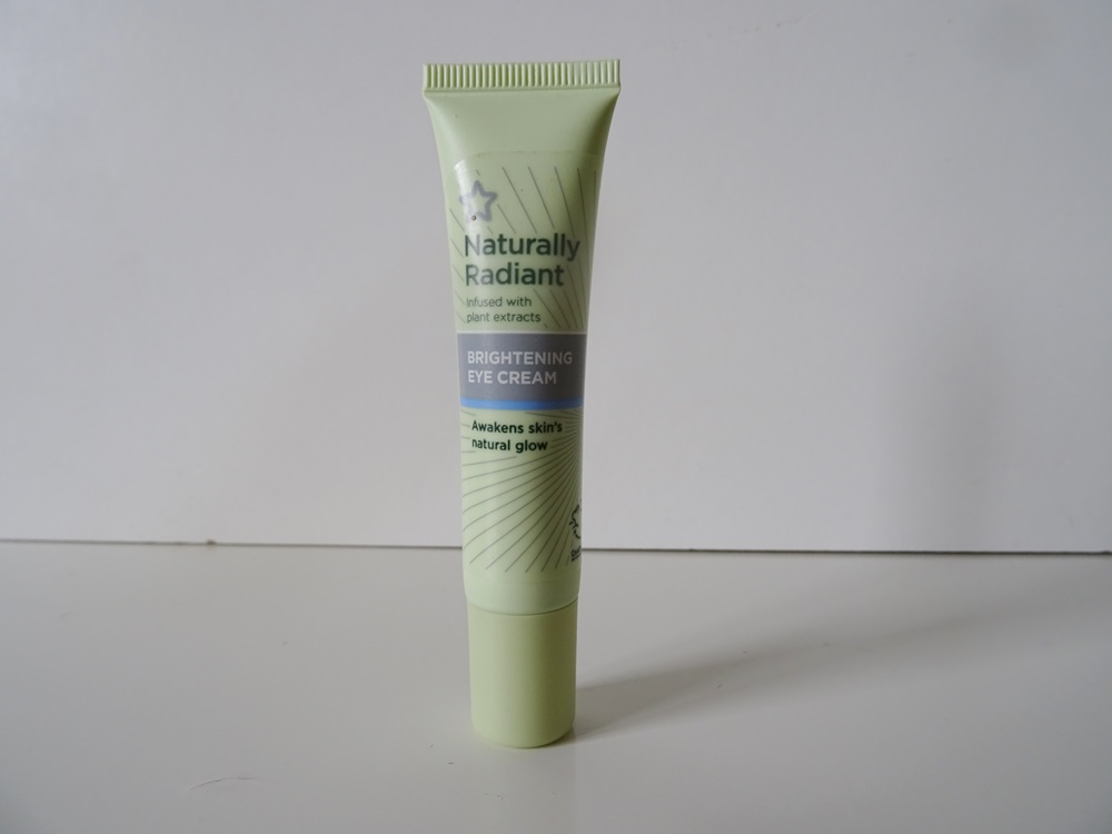 Superdrug Naturally Radiant Brightening Eye Cream Review The