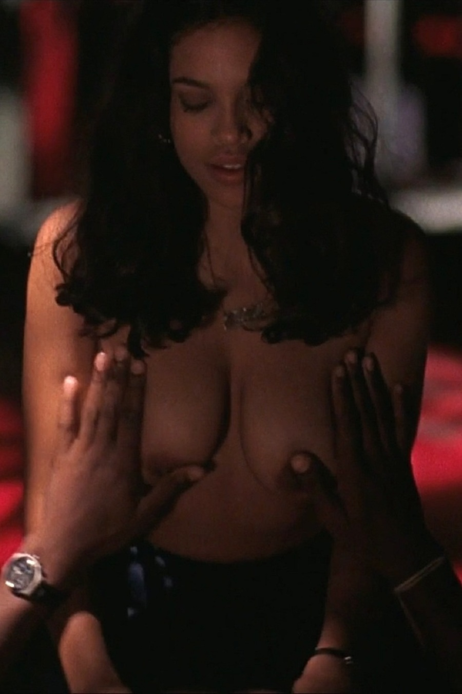 Celebrity Sex Scene - Rosario Dawson In Trance