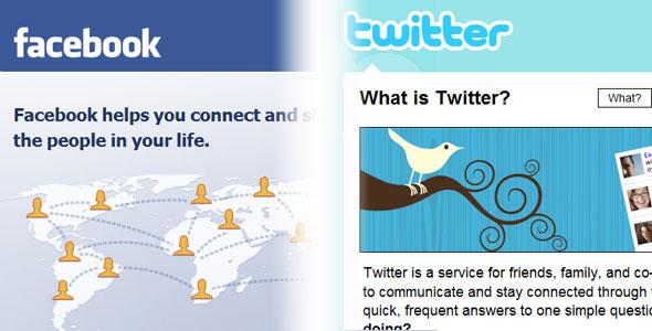 Perbedaan Utama Facebook dan Twitter