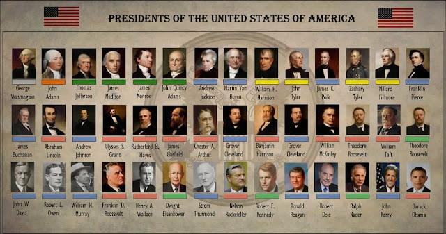 Resultado de imagen para présidents americains