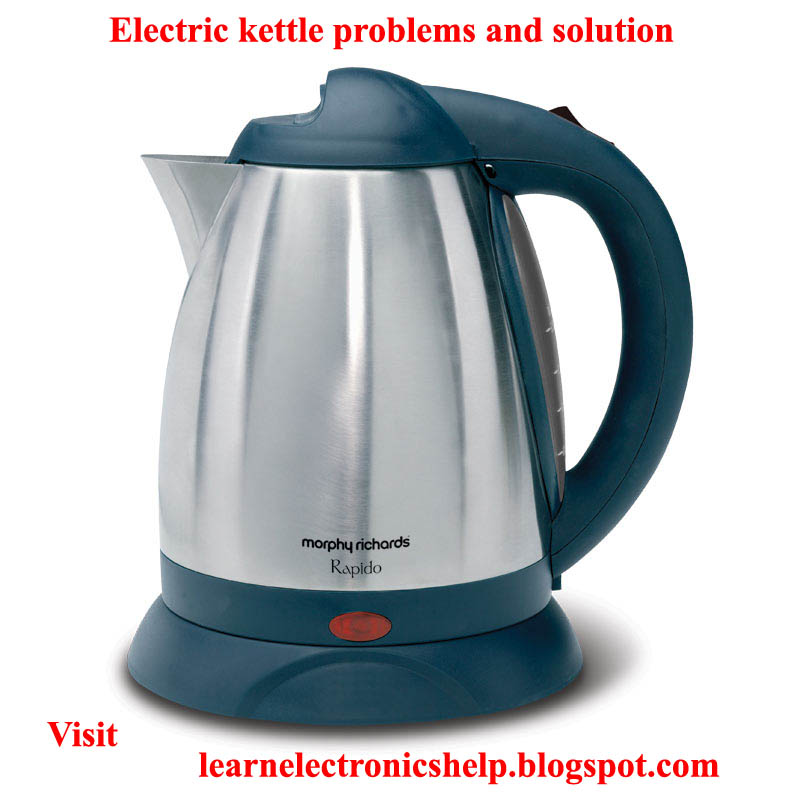 electric kettle problems and solution learn basic electronics circuit diagram repair mini project. Black Bedroom Furniture Sets. Home Design Ideas