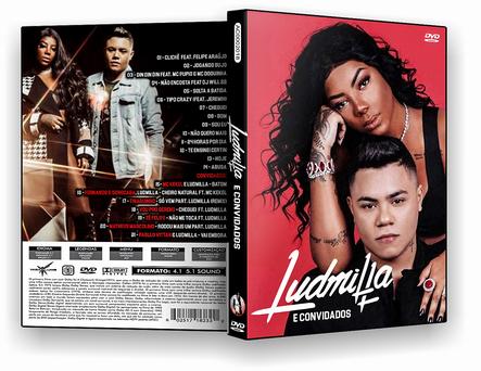 CAPA DVD – Ludmilla E Convidados DVD-R