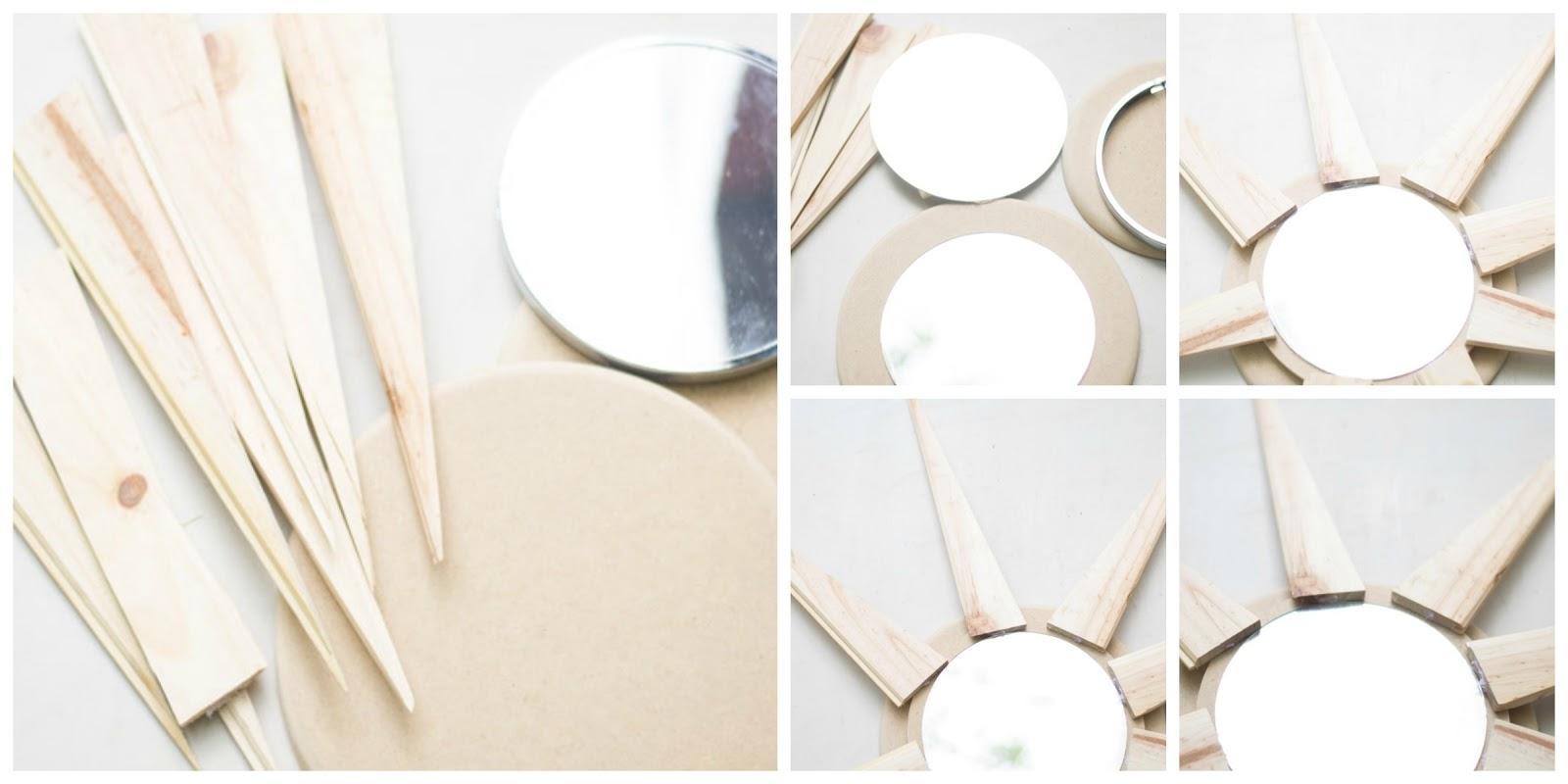Como Hacer Un Espejo Sol Handbox Craft Lovers Comunidad Diy - Hacer-espejos