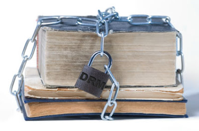 books locked with DRM
