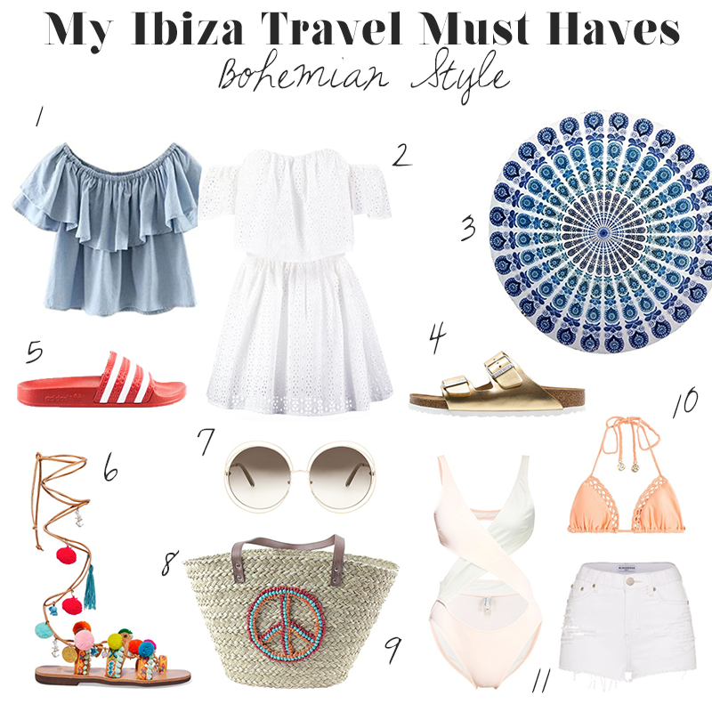 Ibiza-Travel-Essentials-Must Haves-Summer-Dresses-Adidas-Bohemian-Boho-Hippie-Ibiza Style-Blogger-Mode Blog-Fashion Blog-Munich-Lauralamode