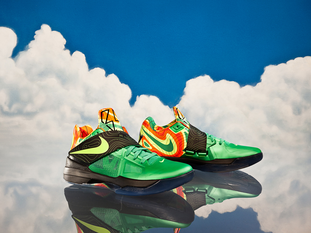 premium selection ffe22 988d1 This special energy colorway of the KD IV launches in limited availability  December 10. Images via Nike.