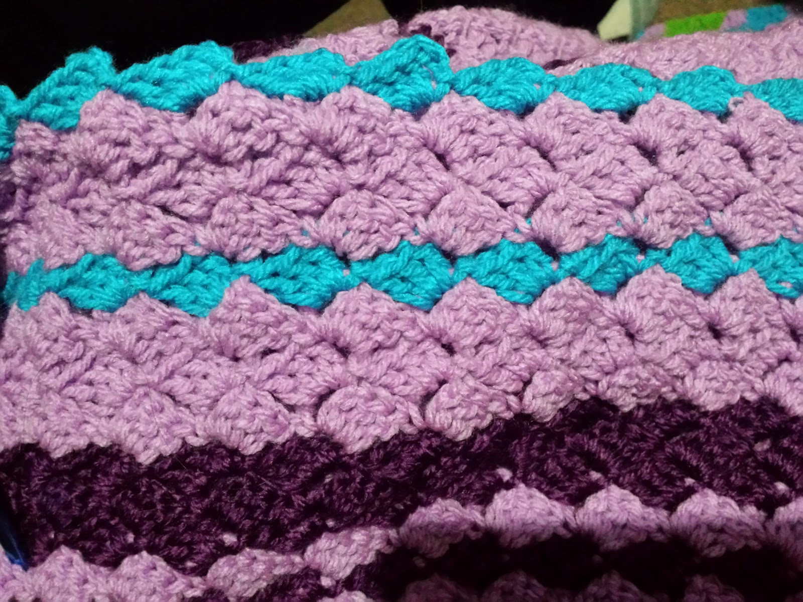 Crochet Temperature Blanket : Blooming Lovely: WIP - Crochet - Temperature Blanket - Week 29