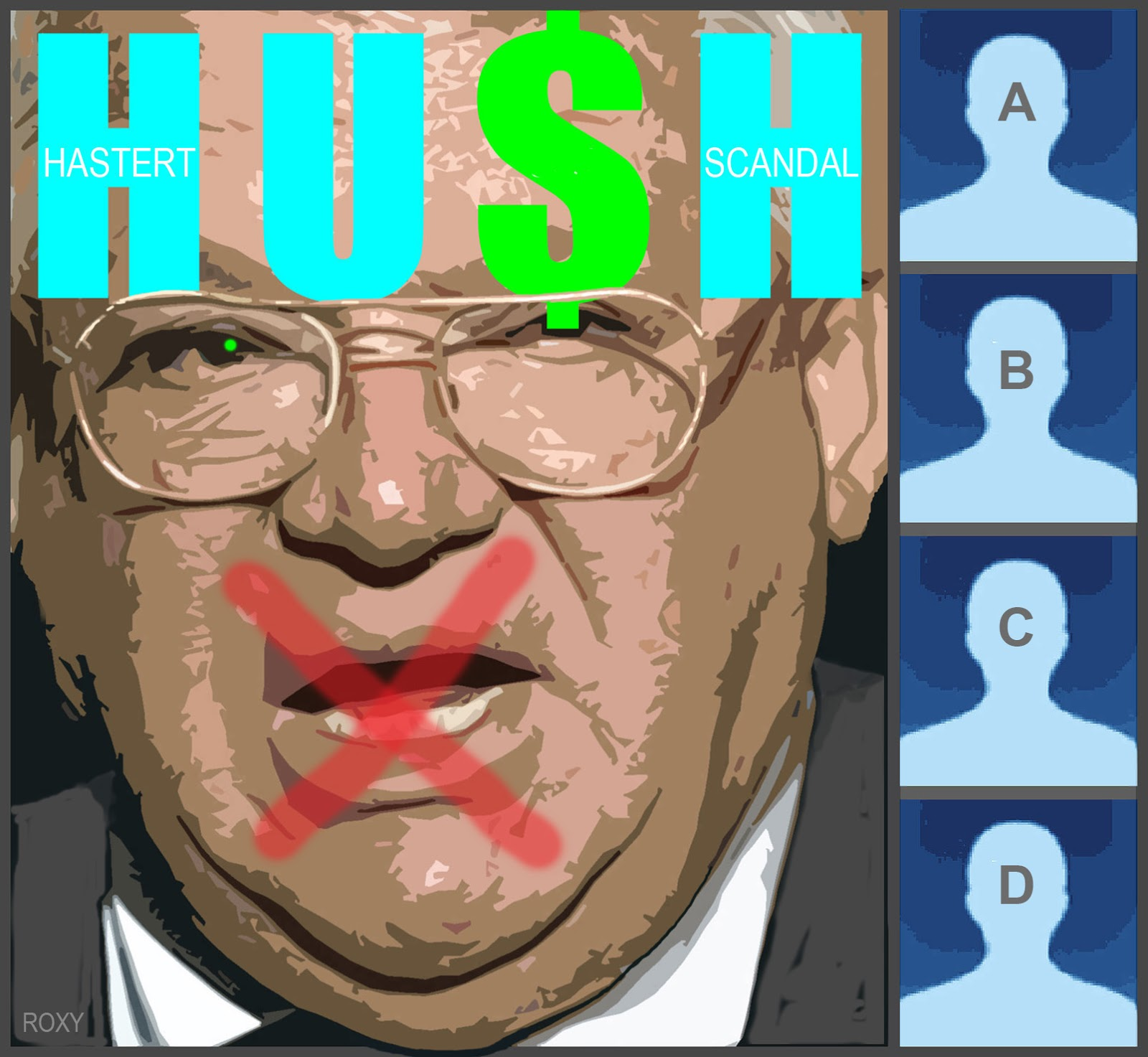 Pedophile house-speaker Dennis Hastert hushed about hush money scandal