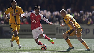 I Don't Think Alexis Sanchez Has Seen This - Oxlade-Chamberlain