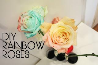 เปลี่ยนสีดอกกุหลาบตกแต่งบ้าน