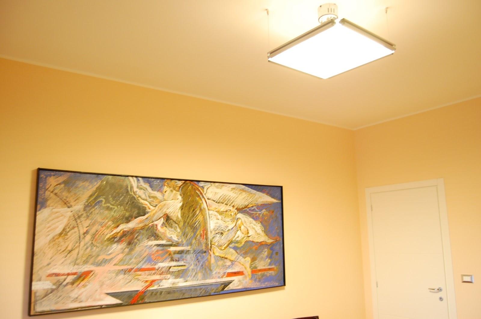 Illuminazione soggiorno con lampade applique da parete moderne