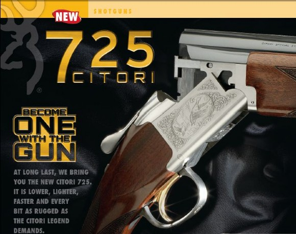 9d2d516eed Δείτε 3-D Βίντεο του Νέου Browning Citori 725 και του Νέου Browning ...