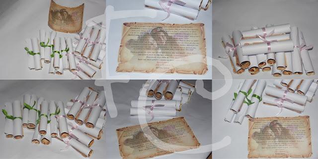Pergaminhos - Alice no País das Maravilhas