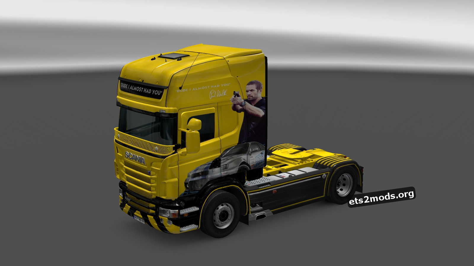Dude I Almost Had You Skin for Scania RJL