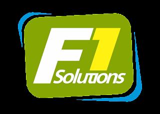 F1 Solutions Logo Vector